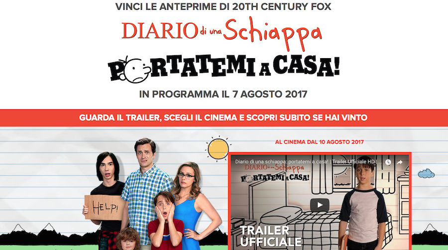 Diario di una schiappa vinci l 39 anteprima gratuita for Vinci una casa