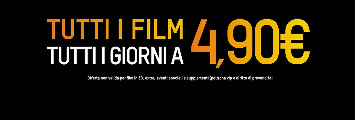 THE SPACE CINEMA ROZZANO - Tutti i giorni tutti i film a 4 ...