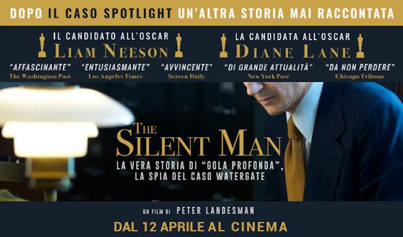 Silent man trailer del film di spionaggio sullo scandalo for Scandalo di watergate