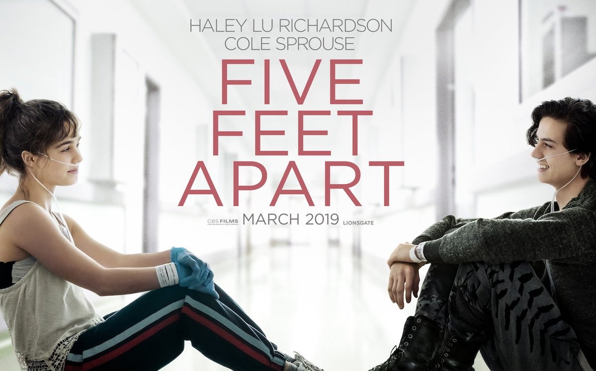 five feet apart italiano  A UN METRO DA TE | Trailer italiano del film con Cole Sprouse ...