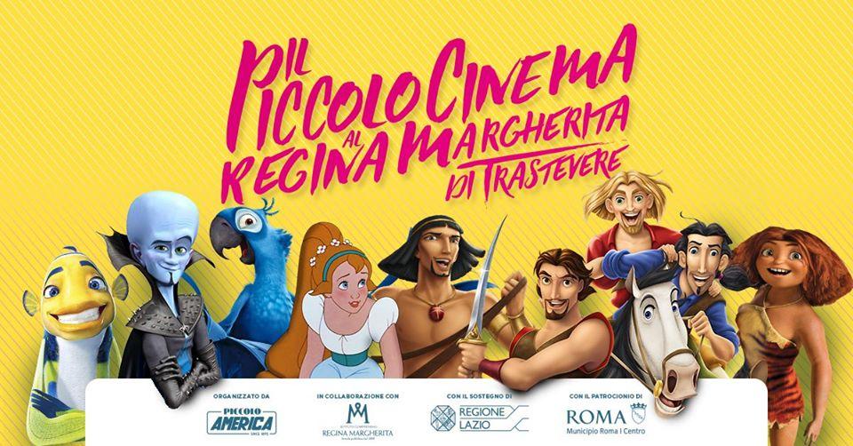 Il Piccolo Cinema al Regina Margherita