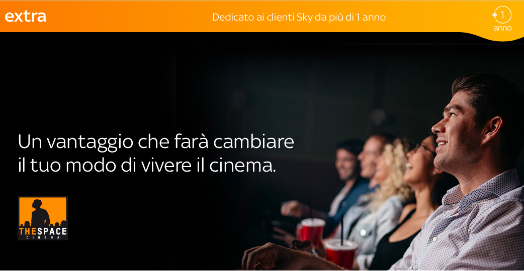 Biglietti scontati ai The Space Cinema