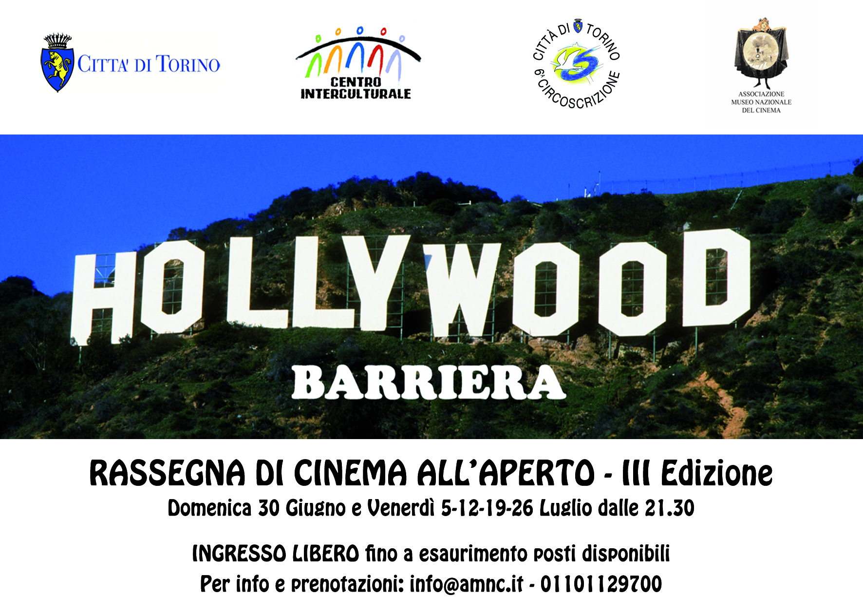 hollywood barriera