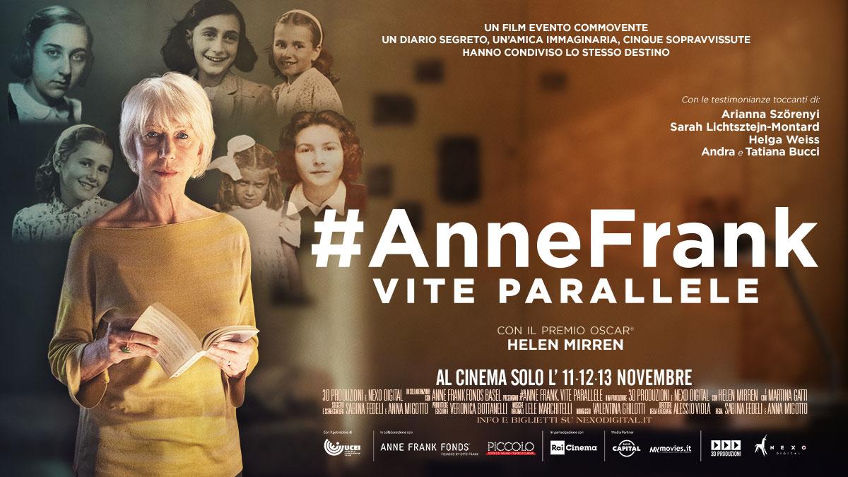 #Anne Frank. Vite parallele