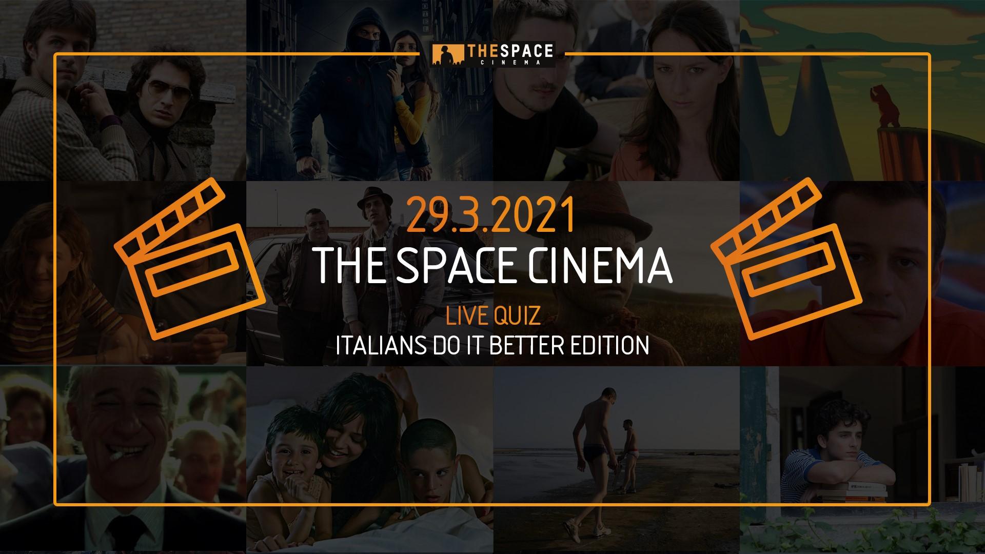 The Space Cinema Live Quiz