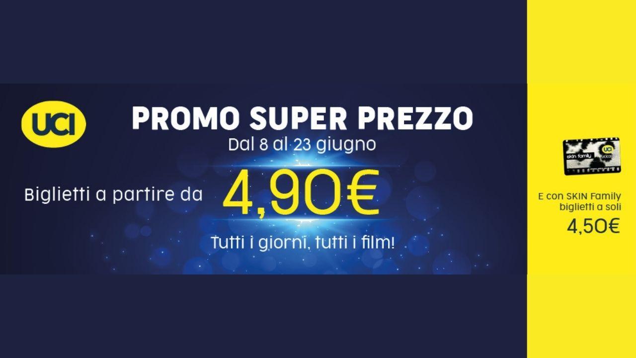 UCI Cinemas promozione